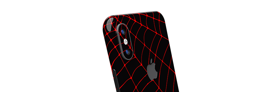 Black Widow iPhone X Full Back skin