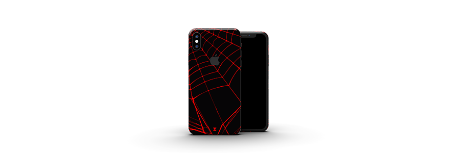 Black Widow iPhone X skins