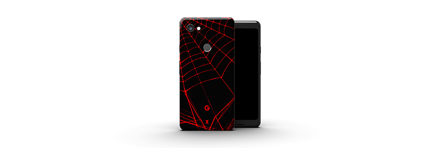 Black Widow Pixel 2 XL skins