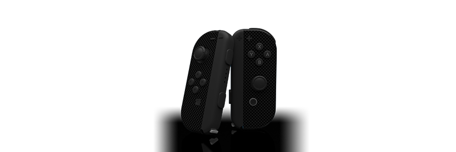Joy Con Shadow Carbon