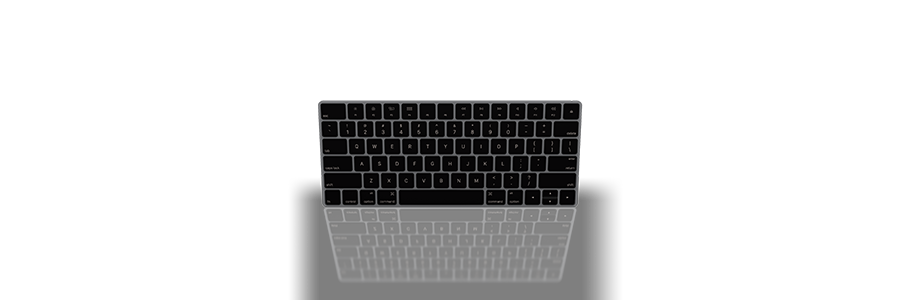 Space Gray Magic Keyboard
