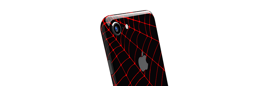 Black Widow iPhone 8 Full Back skin