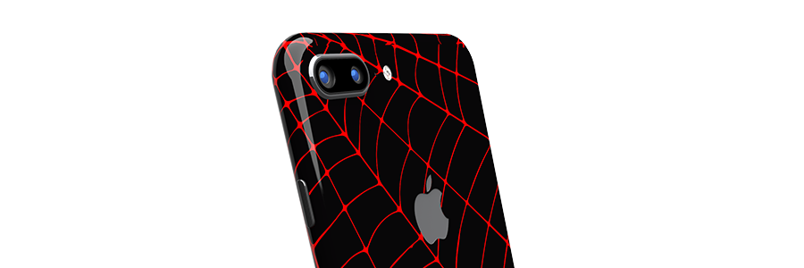Black Widow iPhone 8 Plus Full Back skin