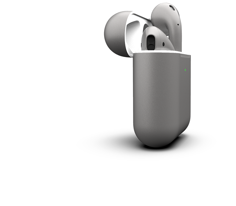 AirPods Space Gray with Wireless Case   Limited Edition