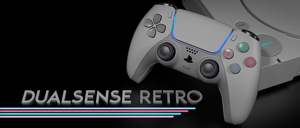 ColorWare DualSense Retro