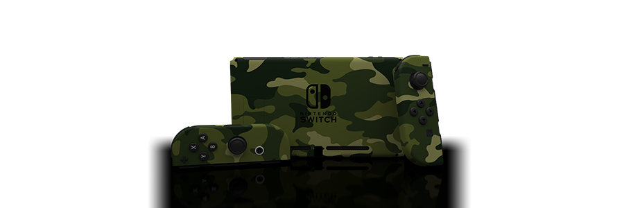 Switch Forest Camo Skin
