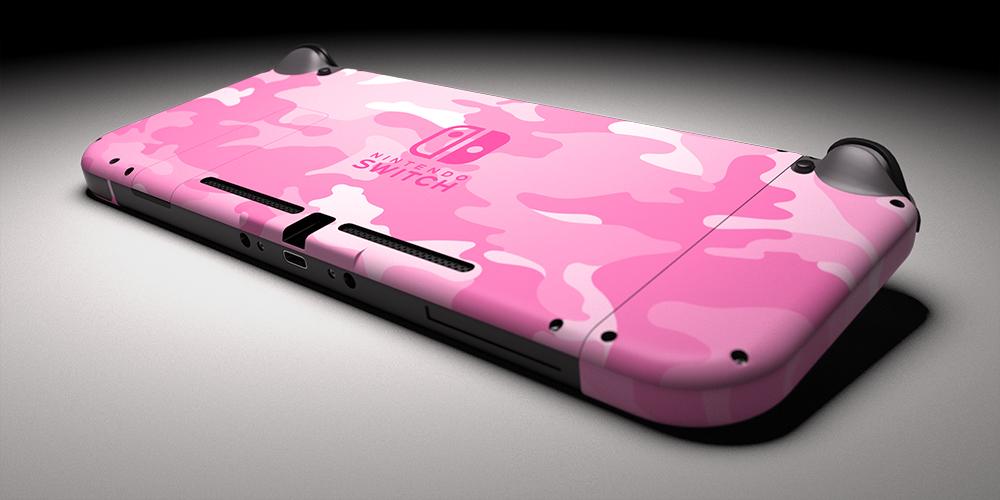 Switch Pink Camo Skin