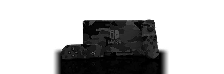 Switch Urban Camo Skin