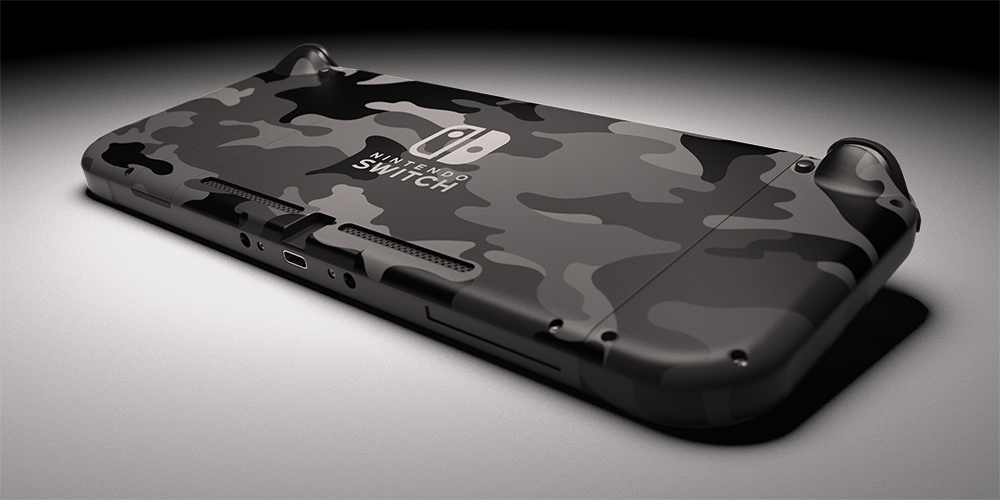 Switch Urban Camo Painted