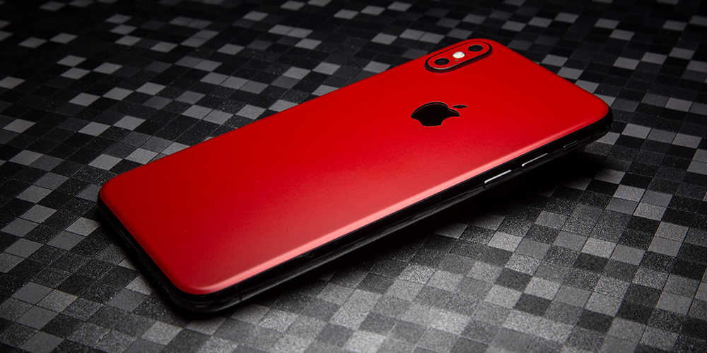 iPhone Xs Skin - Glass Only