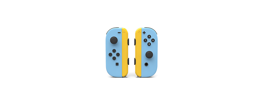 Nintendo Joy Cons Painted