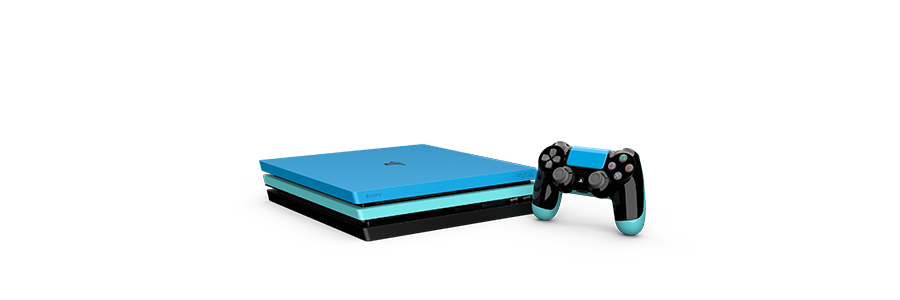 PlayStation 4 Pro Painted
